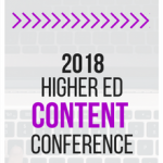 2018 Higher Ed Content Conference logo