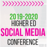 2019-2020 Higher Ed Social Media Conference logo